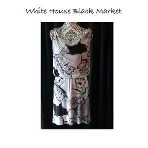 WHITE HOUSE BLACK MARKET BLOUSEN DRESS